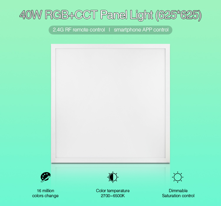 Mi.Light_FUTL02_40W_RGB+CCT_Panel_Light_1