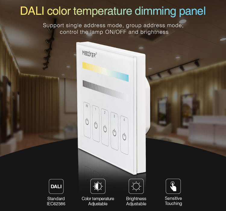 MiLight_DP2_DALI_Color_Temperature_Dimming_Panel_1