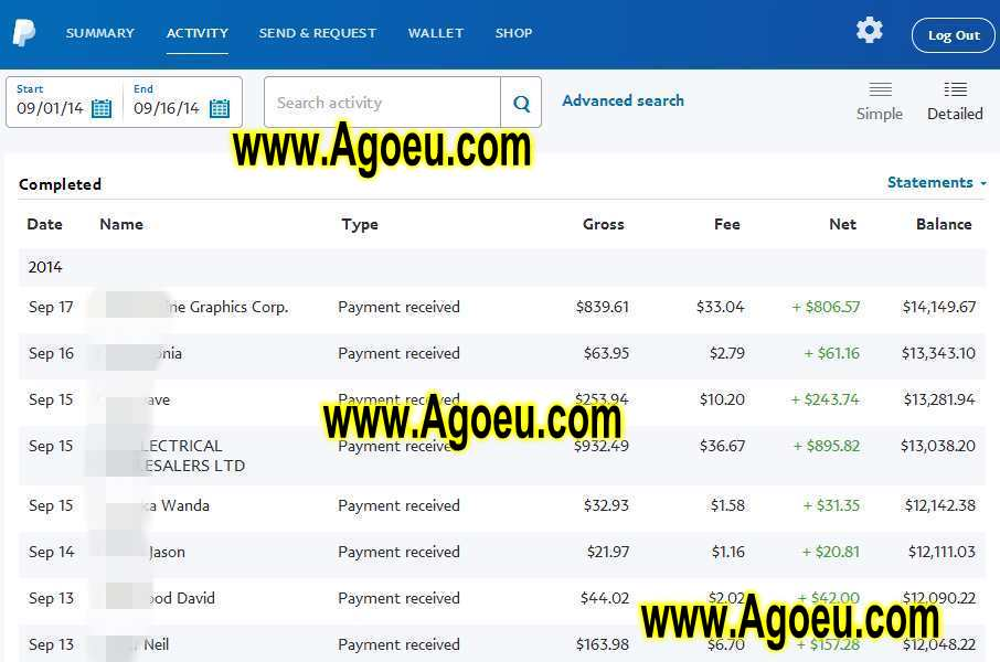 paypal_payments_to_agoeu_safe_transaction_online_suppliers_factory